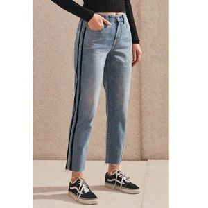 Pacsun Vintage Icon High Waisted Jeans w/ Raw Hem